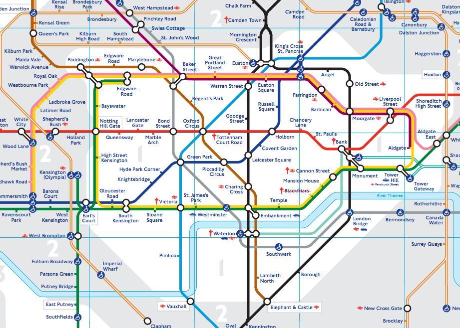 mapa metro londres 2013 Innovador plano del metro de Londres | Un mundo perplejo mapa metro londres 2013